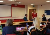 Cult Expert Talks to Students on UK's First Controlling Behaviour Course